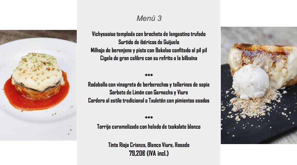 menu san roque